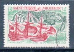 SAINT PIERRE ET MIQUELON -  N° 395 Obl (1969)  Bateaux - St.Pierre Et Miquelon