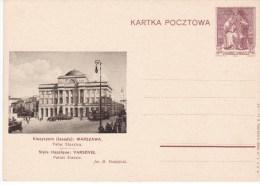 POLAND 1938 Postcard Fi Cp 86-54 Mint - Stamped Stationery
