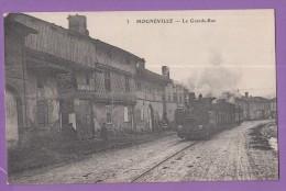 54 MOGNEVILLE La Grande Rue Train - France