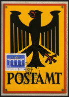 BRD 1984 - Europa CEPT -  Ersttag Sonderstempel Auf Post Museumskarte - Post