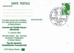 Frankreich / France - Sonderstempel /special Cancellation (a593) - Ganzsachen
