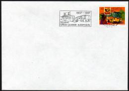 SCHWEIZ 1987 - 50 Jahre Postbus - Sonderstempel - Post