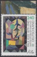 !a! GERMANY 2015 Mi. 3195 MNH SINGLE W/ Top Margin (c) - Paul Klee - BRD