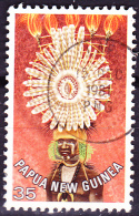 Papua-Neuguinea - Kopfschmuck Morobe-Provinz (Mi.Nr. 348) 1978 - Gest. Used Obl. - Papua New Guinea