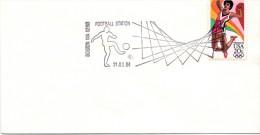 USA 1984 Olympic Games Los Angeles Cover: Football Fussball Soccer Calcio; Boston  ( 01/16franc0009)