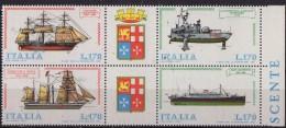 PIA - ITA - 1977 : Constructions Navales - (SAS 1382-85) - Submarines