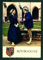 FRANCE  -  Bourgogne  Traditional Costume Of 1830  Unused Postcard As Scan - Costumes