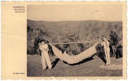 Portugal, Madeira, Hammock, Bearers, 1953 - Madeira