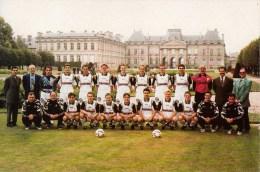 54 - Lunéville : Union Sportive Trailor Lunéville - Equipe Sénior A - Saison 1996/97 - CPM Neuve - Luneville