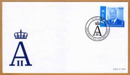 Enveloppe Cover Brief FDC 1519 3417 Roi Albert II - FDC