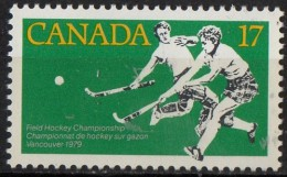 PIA - CANADA  - 1979 - Campionati Femminili Di Hockey Su Prato  -  (Yv 709) - Hockey (su Erba)