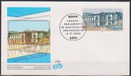 Bund FDC 2000 Nr.2153 Landesparlamente: Saarland ( D 3275 ) - [7] Federal Republic