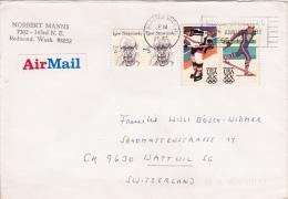 Brief In Die Schweiz (o060) - Covers & Documents