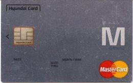 @+ Carte à Puce Démonstration - Hyundai Card MasterCard - Puce Signée - Rare - France