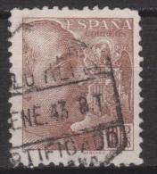 1939 FRANCO SÁNCHEZ TODA 10 PTS USADO. 60 €. VER. - 1931-Hoy: 2ª República - ... Juan Carlos I