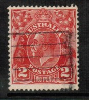 AUSTRALIA   Scott # 71 VF USED - 1913-36 George V: Heads