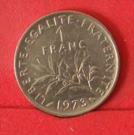 FRANCE  1  FRANC   1972   KM# 925,1  -    (Nº13424) - H. 1 Franc