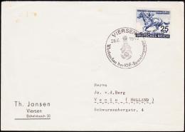1942. DAS BLAUE BAND 25+100Pf. VIERSEN Werbeschau Der KdF-Sammlergruppe 28.6.1942.  (Michel: 814) - JF190178 - Allemagne