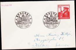 1939. 12+38 Pf. HITLER BRAUNAU 20.4.1939.  (Michel: 691) - JF190142 - Deutschland