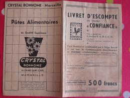 Dépliant Publicitaire Livret D'escompte Du Timbre Confiance (Société S.A.D.E.C.O.) Chateau-gontier. Rivain Crystal 1930 - Publicités