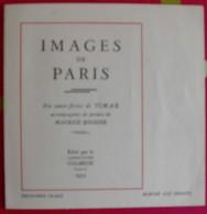 Images De Paris. Eau-forte De Timar + Poème De Maurice Rouhier (marché Aux Oiseaux). 1932. Galbrun - Other