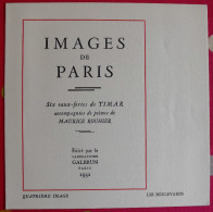 Images De Paris. Eau-forte De Timar + Poème De Maurice Rouhier (les Boulevards). 1932. Galbrun - Other