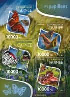 GUINEA REP. 2015 ** Butterflies Schmetterlinge M/S - OFFICIAL ISSUE - A1551 - Schmetterlinge