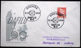 Denmark 1960 Grönlandhilfe /Greenland Help    MiNr.370 Special Cancel Cover   ( Lot  5996 ) - Danemark