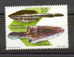TIMBRE NOUVEAU ANDORRE PREHISTOIRE POINTE DE LANCE 1989 - Prehistoria