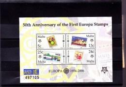 MALTE : Cinquantenaire Du TP Europa : ** : BF32 - 2006