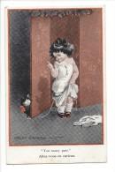 13677 - Fillette Chat You Saucy Puss Allez-vous En Curieux Fred Spurgin - Autres