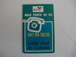 Câmara Municipal De Lisboa Portugal Portuguese Pocket Calendar 1995 - Tamaño Pequeño : 1991-00