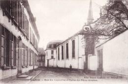 ENGHIEN - Rue Des Augustins Et Eglise Des Pères Jésuites - Enghien - Edingen
