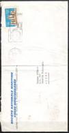 """Algerie -  Lettre Avec Flamme """"SECAP""""  Union Postale Arabe . Document Présentant Un Pli. - Algerien (1962-...)"""
