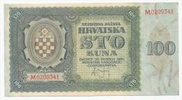 Croatia 100 Kuna 1941. - Croatie