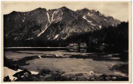 Slowakije/Slovakia, Vysoké Tatry, Popradské Pleso, 1936 - Slowakije