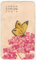 CARTE PUBLICITAIRE PARFUMEE : Crème SIMON Paris - Perfume Cards
