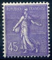 FRANCE SEMEUSE LIGNEE 1924-32 NEUF SANS CHARNIERE YVERT N°197 COTE 13E - 1903-60 Semeuse A Righe