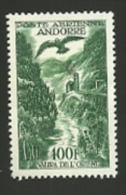 ANDORRE =  LE TIMBRE POSTE AERIENNE  N° 2 * + 5 + 6 - Luchtpost