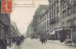 75 - Paris (Xe Arrt) - Le Bureau De Tabac Et La Poste Du Faubourg Saint-Denis - Arrondissement: 10