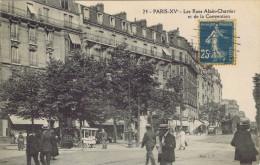 75 - Paris (XVe Arrt) - Les Rues Alain-Chartier Et De La Convention - Distrito: 15
