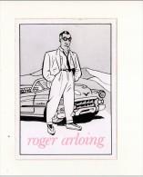 *  Roger Arloing   * - Autocollants