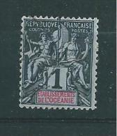 France Colonie Timbres D´Océanie De 1892  N°1 Oblitéré - Usati