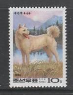 TIMBRE NEUF DE COREE DU NORD - CHIEN DE PHUNGSAN N° Y&T 2457 - Hunde