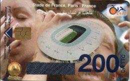 Algérie Télécarte Oria Sport Football Stade De France Paris France - Algérie