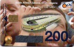 Algérie Télécarte Oria Sport Football Stade Ahmed Zaban, Oran Algérie - Algérie