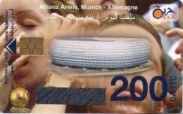 Algérie Télécarte Oria Sport Football Stade Allianz Arena Munich Allemagne - Algérie