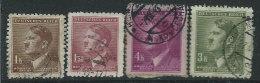 Boemia E Moravia 1942 Usato - 4v - Boemia E Moravia