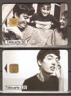 LOT DE 2 TELECARTES De 1998.  -  50 Et 120 Unités. France Télécom  /  AUTISME - France