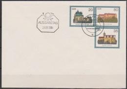 DDR Ganzsache 1984  Nr.U 1 FDC   Burgen Der DDR Ungebraucht  ( D 3356 ) - Umschläge - Ungebraucht